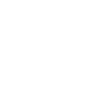 Logo Restoptimal format cercle représentant une assiette et au milieu une représentation d'un hangar au milieu du cercle.